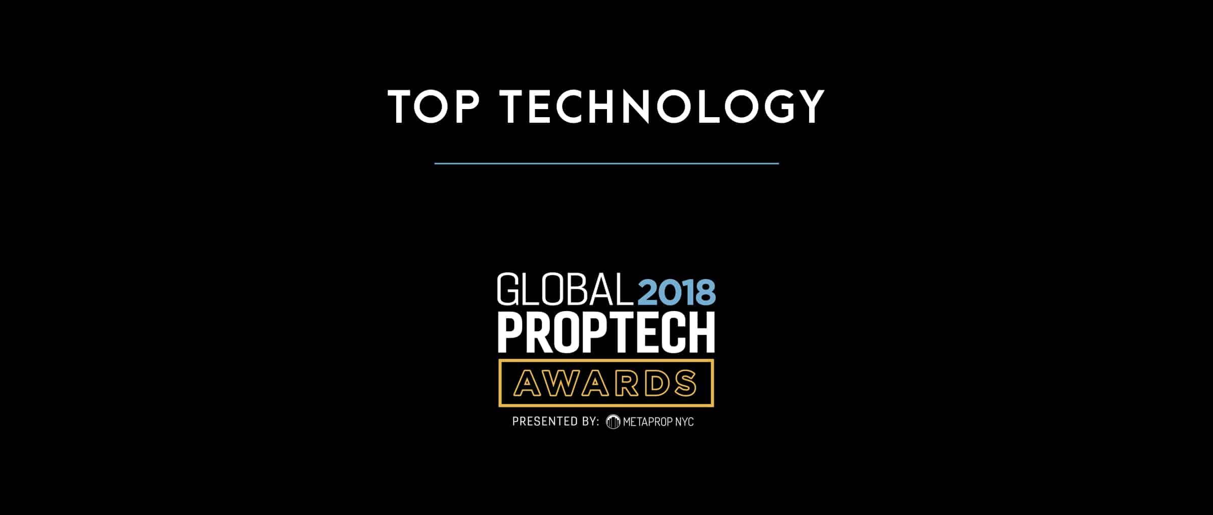 Top Technology PropTech Awards