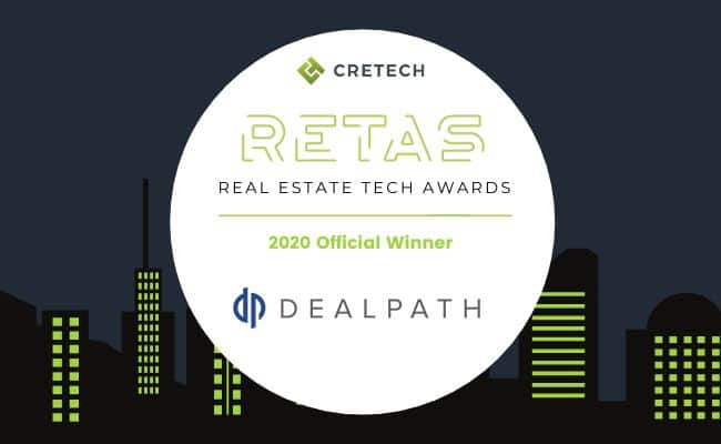 Dealpath wins CREtech RETAs Award