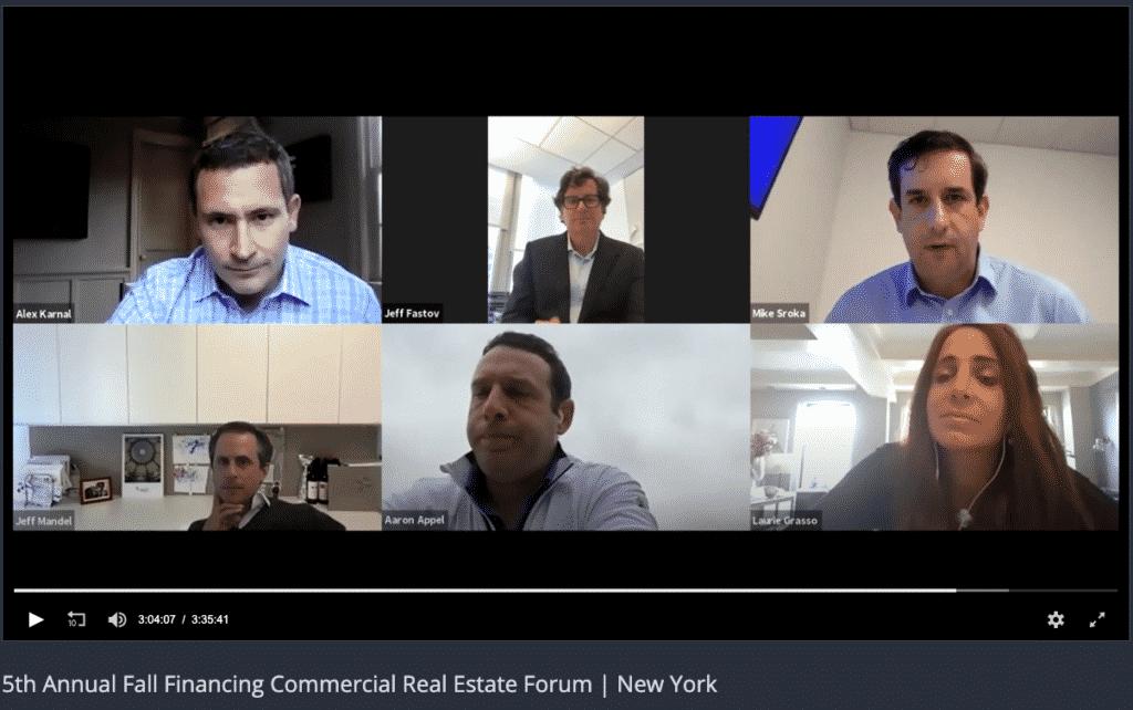 Commercial Observer Finance Forum Panel